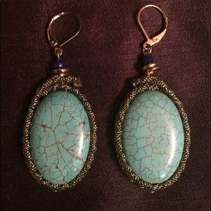 HOLD FOR KASSATORY Turquoise Earrings